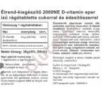 Vitaking Epres D3-vitamin 2000NE -  (90 rágótab)
