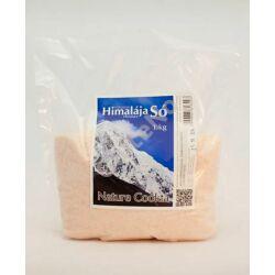 Nature Cookta Himalája só rózsaszín, finom őrlésű - 1 kg