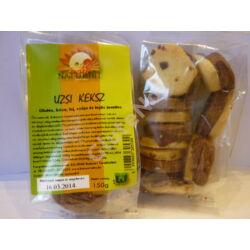 Naturbit Gluténmentes Uzsi keksz (kakaókrémes) linzer  150 g