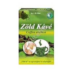 Zöld kávé filteres, Dr Chen - 20 x 3 g