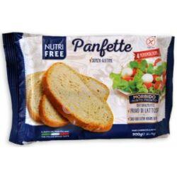 Nutri Free Panfette (gluténmentes elősütött szeletelt kenyér) - 300 g