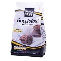 Nutri Free Gocciolotti al cioccolato ( Gluténmentes Csokoládés Keksz) -400 g