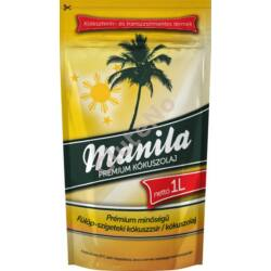 Manila Prémium Kókuszolaj - 1000 ml