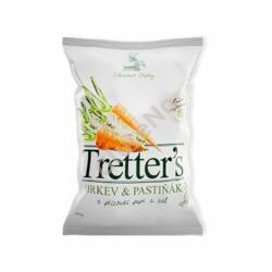 Tretter's Zöldségchips - sárgarépa, pasztinák - 90 g