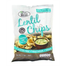 Eat Real Lencse chips tejszínes-kapros - 40 g