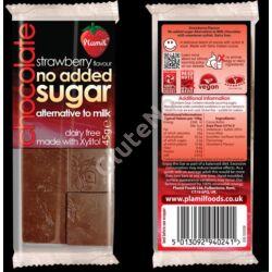 "Plamil No Added Sugar Epres  ""tej"" csokoládé (gluténmentes, tejmentes) - 45 g"