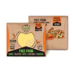 Green Vie pizzára való, szeletelt vegán sajt, gluténmentes - 180 g