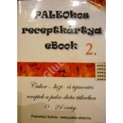 PALEOKOS 2. Receptkártya CD