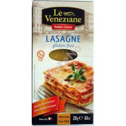 Le Veneziane Gluténmentes Lasagne tészta - 250 g