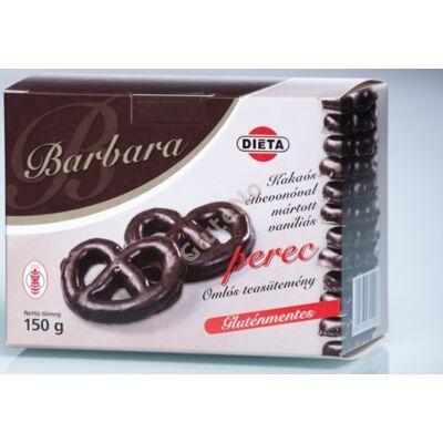 Barbara Gluténmentes Vaníliás perec étbevonóban - 150 g