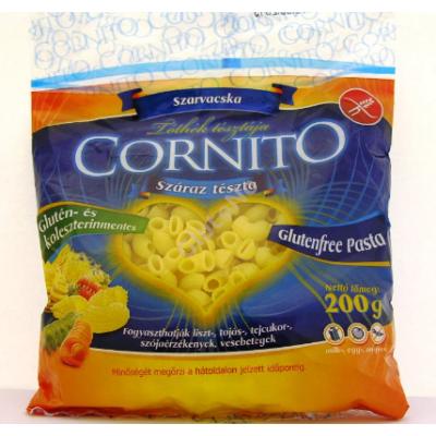 CORNITO tészta - gluténmentes szarvacska 200 g
