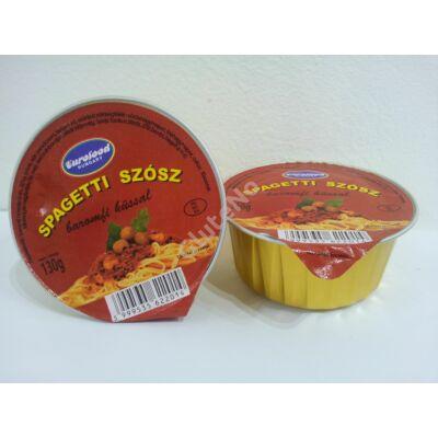 Eurofood Gluténmentes Spagetti szósz baromfi hússal 130 g