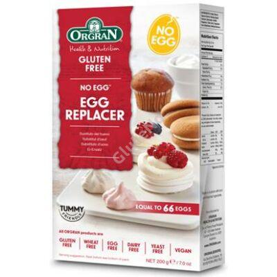 ORGRAN Gluténmentes tojáshelyettesítő por, univerzális - 200g