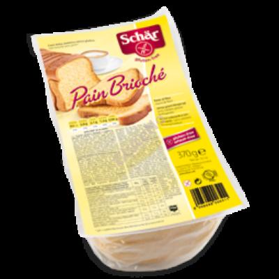 Scär Pan Brioche Gluténmentes édes kenyér 370 g