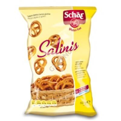Schär Salinis Gluténmentes Sós Perec  - 60g