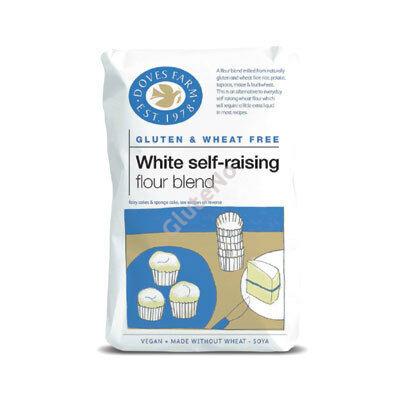 Doves Farm Gluténmentes Önkelesztő sütemény lisztkeverék - 1000 g