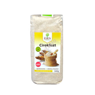 Gluténmentes Prémium Cirokliszt (Éden) - 500 g