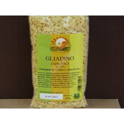 Gliadino Gluténmentes Zabkocka tészta - 200 g