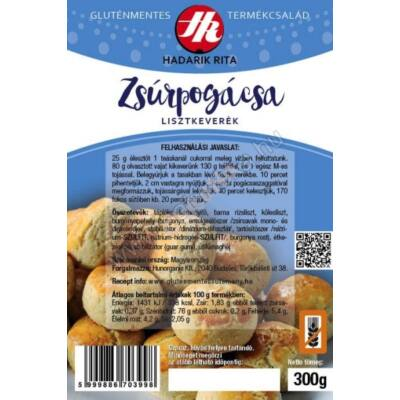 HR Gluténmentes Zsúrpogácsa (Hadarik Rita) - 300 g
