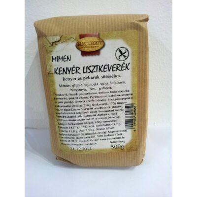MIMEN Gluténmentes Kenyér Barna és pékáru lisztkeverék - 500 g