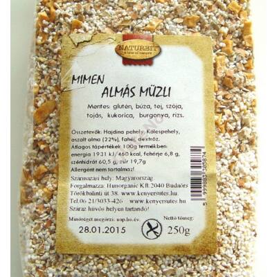 MIMEN Almás Müzli - 250 g