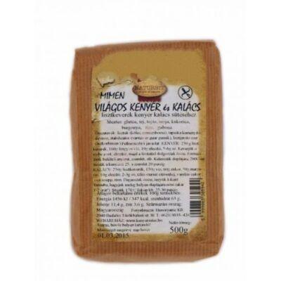 MIMEN Világos kenyér és kalács lisztkeverék - 500 g
