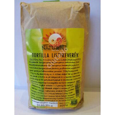Naturbit Gluténmentes Tortilla lisztkeverék - 500g