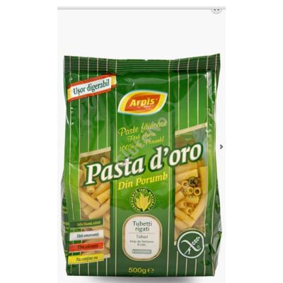 Pasta D'oro tészta  - Rövid cső/Tubetti  500 g