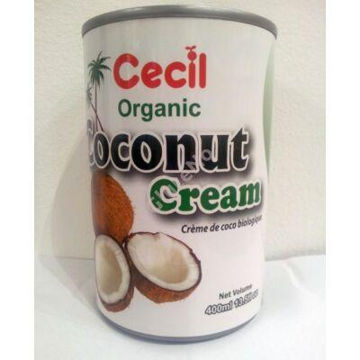 Cecil organikus kókusz krém - 400 ml