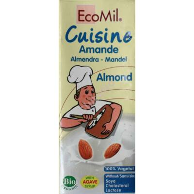 Ecomil bio mandulatejszín - 200 ml