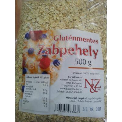 Gluténmentes Zabpehely N&Z -500 g