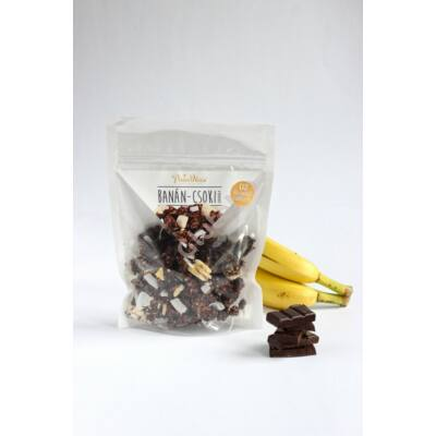 Csokis-banános Granola (Paleo Nasi) - 150 g
