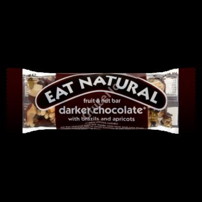 EAT NATURAL gluténmentes Müzliszelet, brazil dió-sárgabarack-étcsokoládé - 45 g