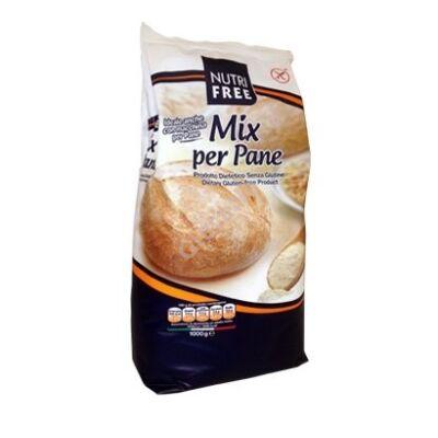Nutri Free  Mix per Pane Gluténmentes Kenyérpor - 1000 g