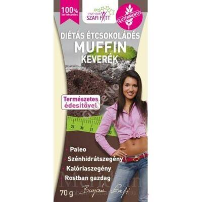 Szafi Fitt Étcsokoládé ízű Muffin keverék - 280 g