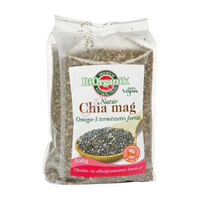 Biorganik Natúr Chia Mag - 500 g