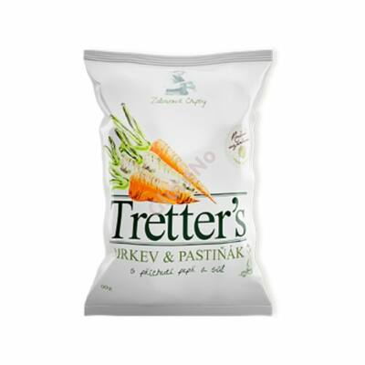 Tretter's gluténmentes Zöldségchips - sárgarépa, pasztinák - 90 g