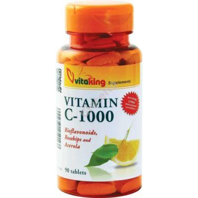 Vitaking C-vitamin tabletta 1000mg Bio  - 90 db