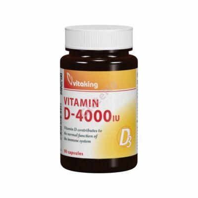 Vitaking  D-Vitamin - 4000 NE kapszula - 90 db