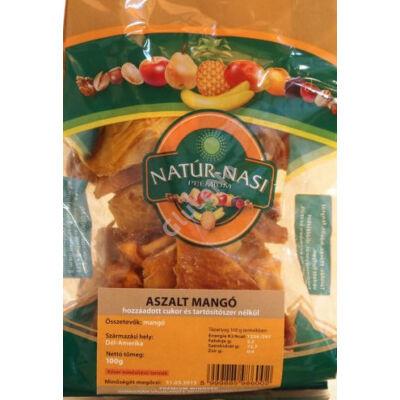 Natúr-Nasi Aszalt Mangó (cukormentes ,kén-dioxid mentes) - 100g