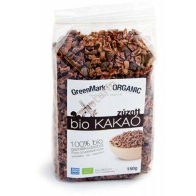 GreenMark Bio Kakaóbab, pörkölt, zúzott - 150g