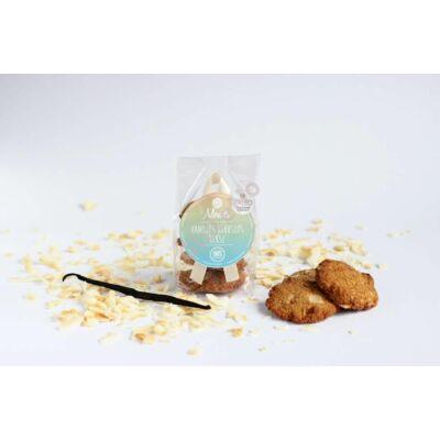 Mentes Vaníliás kókuszos, hibiszkuszos keksz -80 g