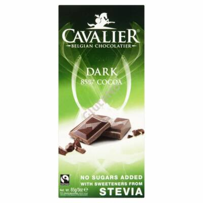 Cavalier Étcsokoládé (Stevia édesítőszerrel) 85g