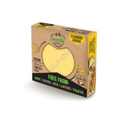Green Vie  Gouda vegán sajt, gluténmentes - 250 g