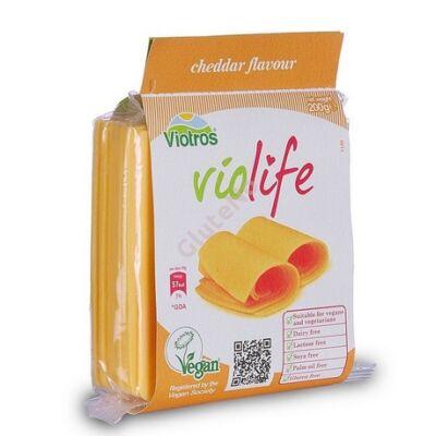 Violife növényi sajt, Cheddar ízű (szeletelt) - 200 g