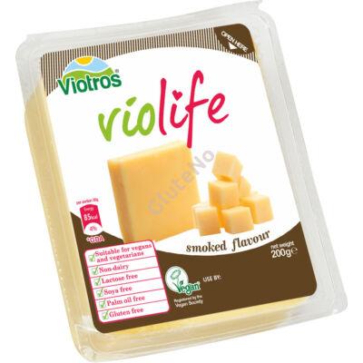 Violife növényi sajt, Füstölt ízű - 200 g
