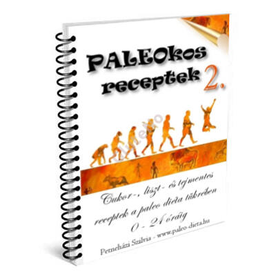 PALEOKOS 2. Receptkártya könyv