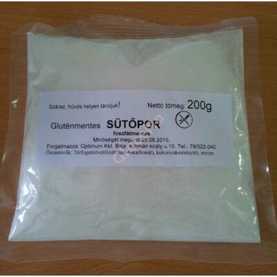 Mester Család Gluténmentes, Foszfátmentes sütőpor - 200 g