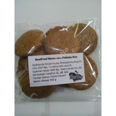 Real Food Narancsos-fahéjas keksz - 100 g