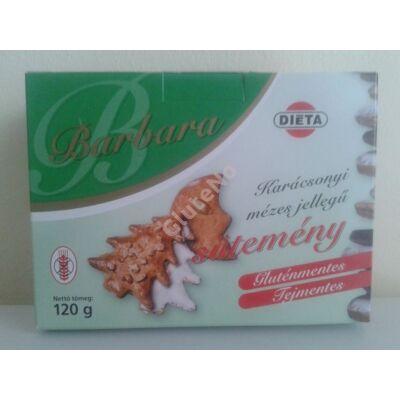 Barbara Gluténmentes Mézes jellegű sütemény - 120 g